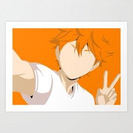 Haikyuu!! Hinata Shouyou Art Print