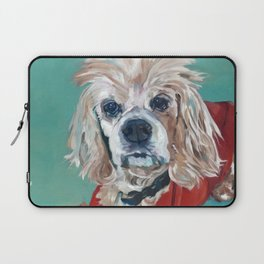 Ted the Cocker Spaniel Dog Art Laptop Sleeve