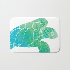 Sea Turtle II Bath Mat