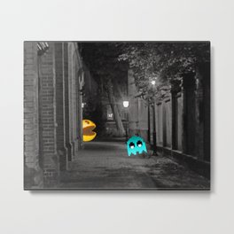 Pixel Hate Metal Print