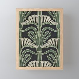 Art Nouveau Botanical Framed Mini Art Print