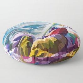 Sea vibes Floor Pillow