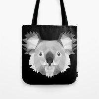koala Tote Bags featuring Koala by Taranta Babu