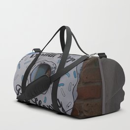 Don't worry be #Happy Duffle Bag