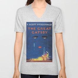 F. Scott Fitzgerald - The Great Gatsby Unisex V-Neck