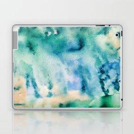 Watercolor abstract many color no.16 Laptop & iPad Skin