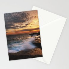 Twilight Surf Stationery Cards