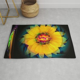 Sunflower Love Rug