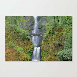Multnomah Falls 2 Canvas Print