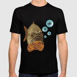 Grumpy fish T-shirt