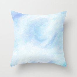 Warm Fall Days - Tropical Ocean Seascape Throw Pillow