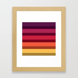 Accordion Fold Series Style A Framed Art Print