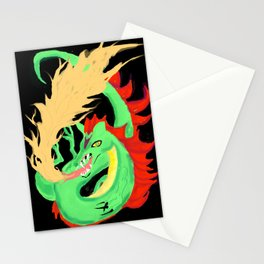 Fire-breathing Dragon Stationery Cards
