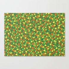 Peas, Carrot & Corn Canvas Print