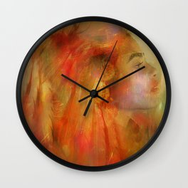 Native American Wall Clock
