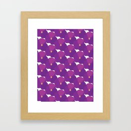 You're turning Violet, Violet Framed Art Print