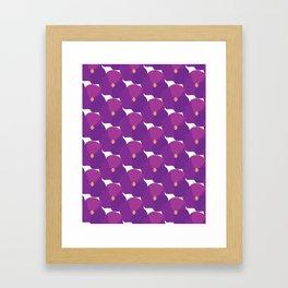 You're turning Violet, Violet Framed Art Print