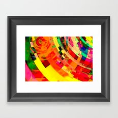 Playa del Carmen Sun No.1 Framed Art Print