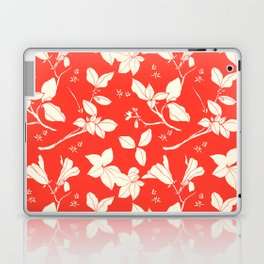 Drawings from Stonecrop Garden, Pattern in Red Laptop & iPad Skin