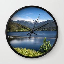 Capilano Lake Wall Clock