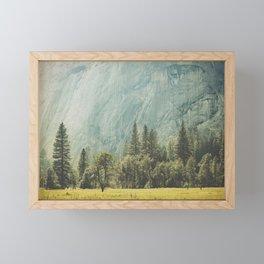 Yosemite Valley IV Framed Mini Art Print
