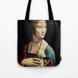 THE LADY WITH AN ERMINE - DA VINCI Tote Bag