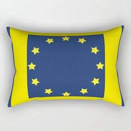 The European   Union 2 Rectangular Pillow
