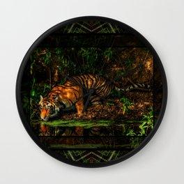 The Royal Bengal Tiger ( Wall Clock