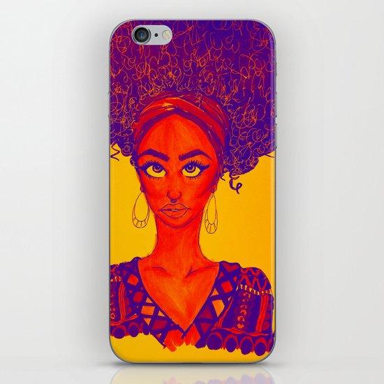 Black Queen iPhone & iPod Skin