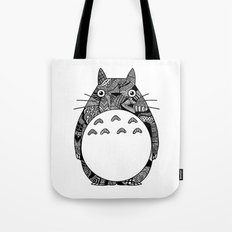 Ghibli Zentangle Tote Bag