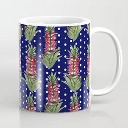 Beautiful Australian Native Flower Pattern Coffee Mug