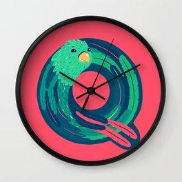 Q for Quetzal Wall Clock