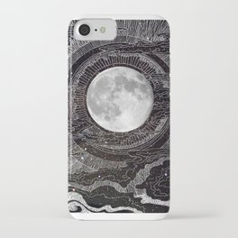 Moon Glow iPhone Case
