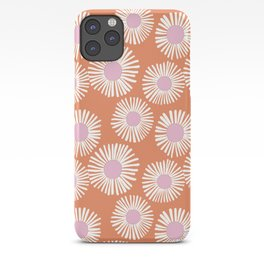 Terracotta Daisy iPhone Case