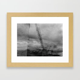 Windmills of Don Quijote  Framed Art Print