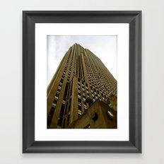 Rockefeller Building Framed Art Print