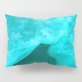 ghost in the swimming pool: aquagreen variations Pillow Sham