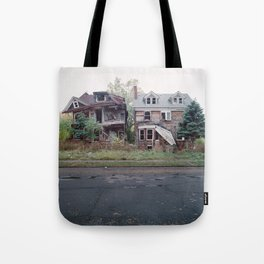 Abandoned Houses Tote Bag