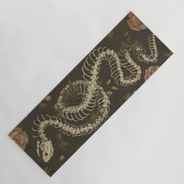 Snake Skeleton Yoga Mat