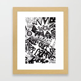 Step Out of Your Comfort Zone Framed Art Print