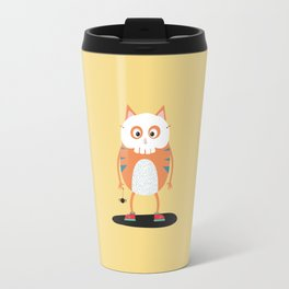 Happy Halloween Skull Cat T-Shirt D3lc2 Travel Mug