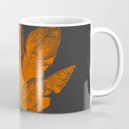 Banana Plant Illustration Coffee Mug