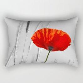 Poppy Red 070 Rectangular Pillow