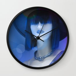 Ms Red White And Blue Wall Clock