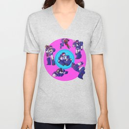 Soundwaves - Crystals Unisex V-Neck