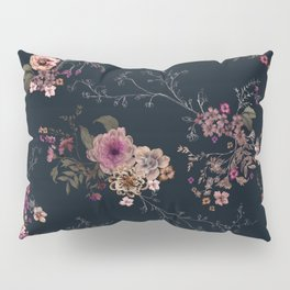 Japanese Boho Floral Pillow Sham