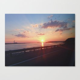 The Great River Road Canvas Print