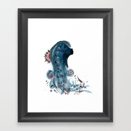 SPROUT AND THE BEAN Framed Art Print