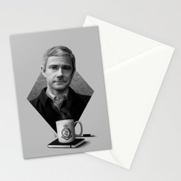 The blogging army doctor Stationery Cards