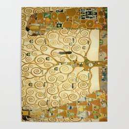 Gustav Klimt - Tree of Life Poster